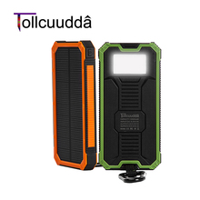 Buy Tollcuudda Solar Poverbank Phone For Xiaomi Power Bank Charger Battery Portable Mobile Pover Bank Powerbank 10000mah For Iphone for $18.91 in AliExpress store