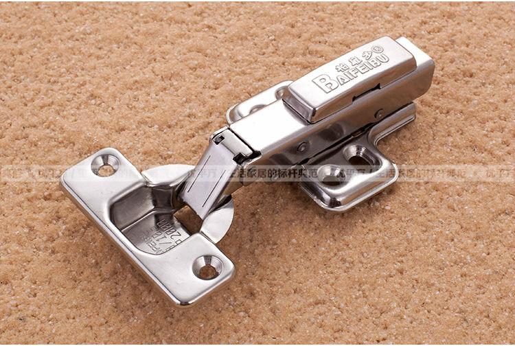 Removable stainless steel hydraulic cushioning spring hinge furniture hardware cabinet door damping hinge copper core(China (Mainland))