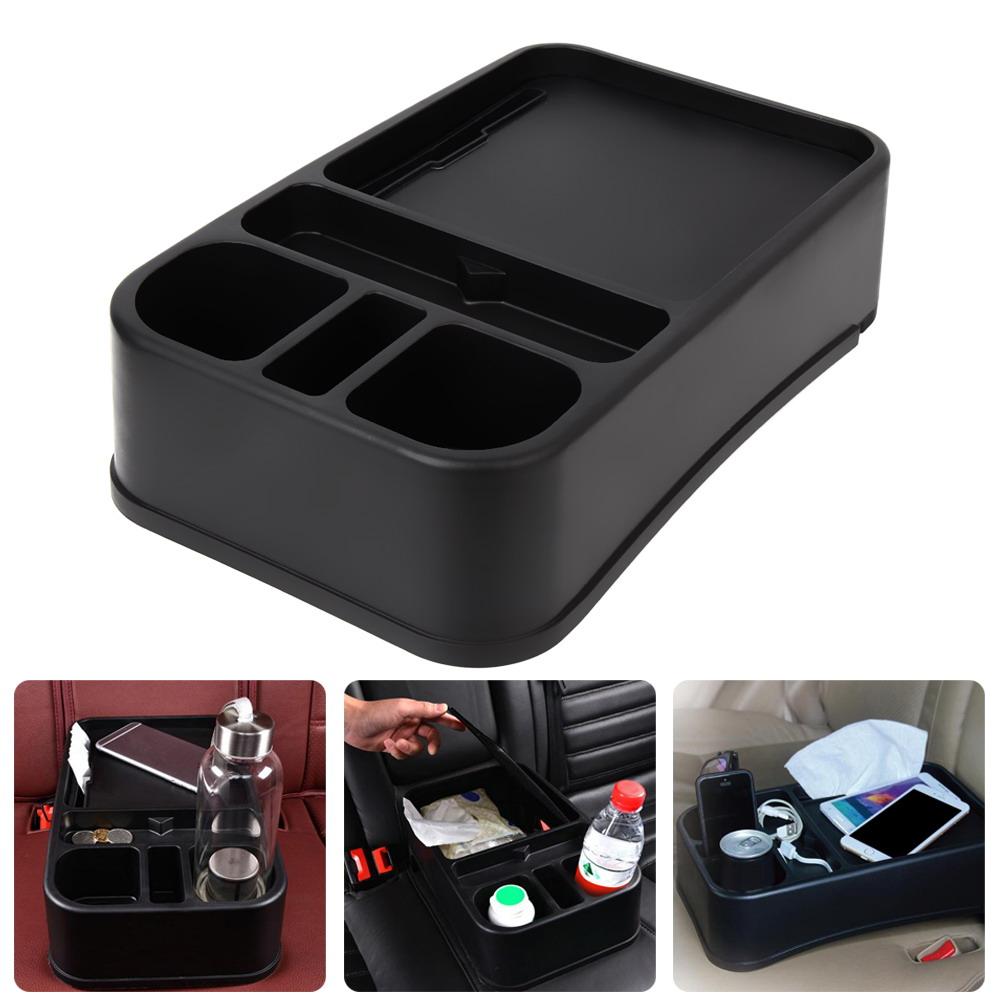 Car shelf Auto Supplies Multifunction Car Auto Seat Side Organizer Holder Shelf Box car storage car cup holder Large size tray(China (Mainland))