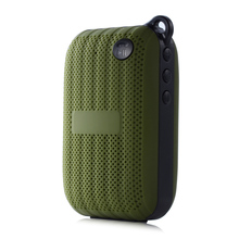 Mini Portable Jam-box Style Wireless Built-in Mic Hands-free Bluetooth Speaker with Rechargeable Battery Free Shipping(China (Mainland))