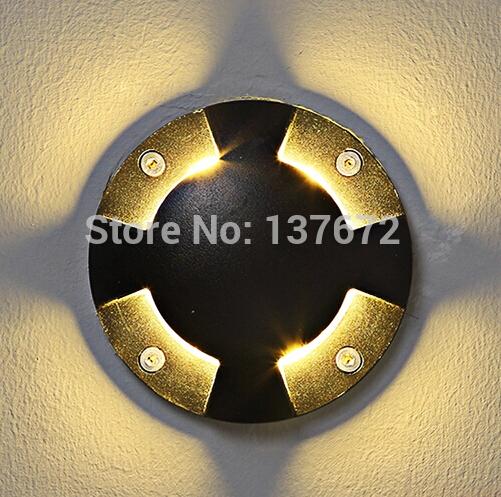 Drop Price lampada le garden light AC85-256V ground light outdoor deck leds 6w underground light 1pcs(China (Mainland))