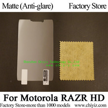 Matte Anti-glare Screen Protector Guard Cover protective Film For Motorola DROID RAZR MAXX HD XT925 XT926