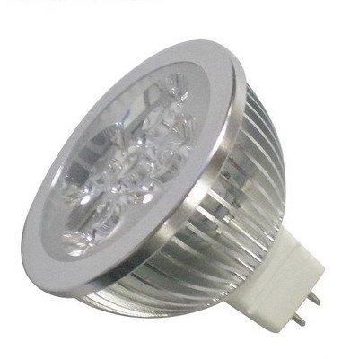 DC 12V LED Spot light 4W GU5.3 MR16 led lamp Warm White bulb Lamp Spotlight Free Shipping(China (Mainland))