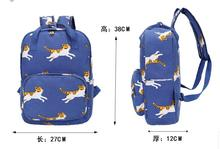 the new backpack Star who meow mini plaid backpack shoulder bag men and women travel bag(China (Mainland))