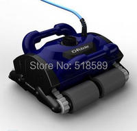 Free Shipping New Model iCleaner-200 with 15m cable Swim Pool Robot Cleaner robot swimming pool cleaner with caddy cart and CE