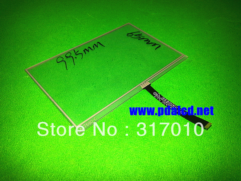 "Original New 4.3"" inch 6 wire A1769D-G Resistive Touch Screen Panel Onda VX540 VX530 touch screen digitizer panel free shipping(China (Mainland))"