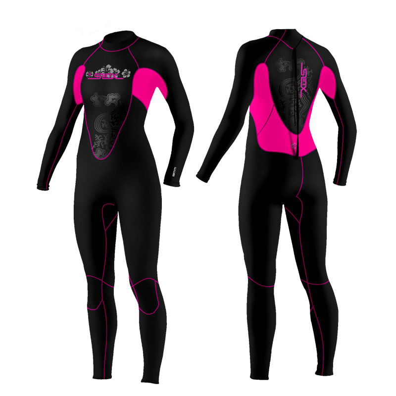 3mm submersible clothing neoprene wetsuit