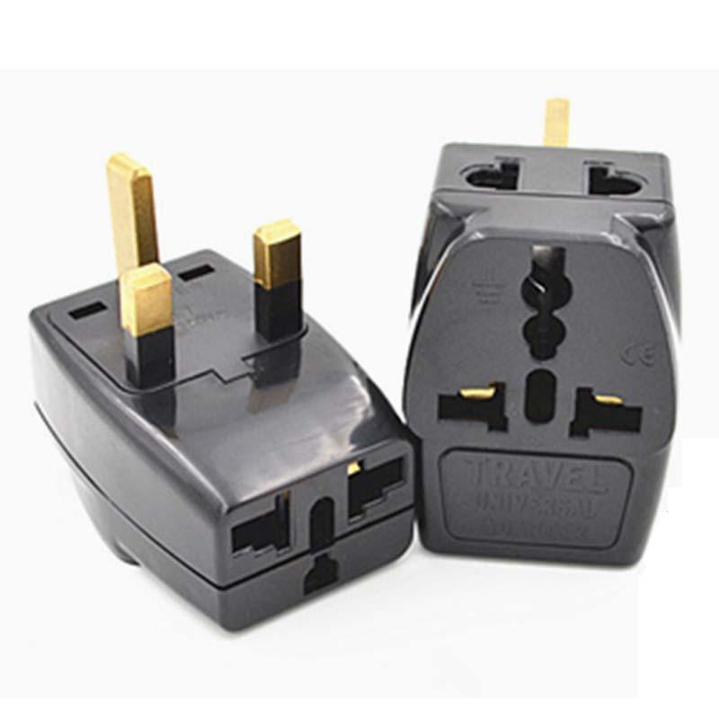 10pcs/lot 1 to 2 Splitter Universal UK/US/AU 3 Pins 2 Pins Socket to UK 3pin Ireland Singapore 3 Pin Travel Power Adapter Plug(China (Mainland))
