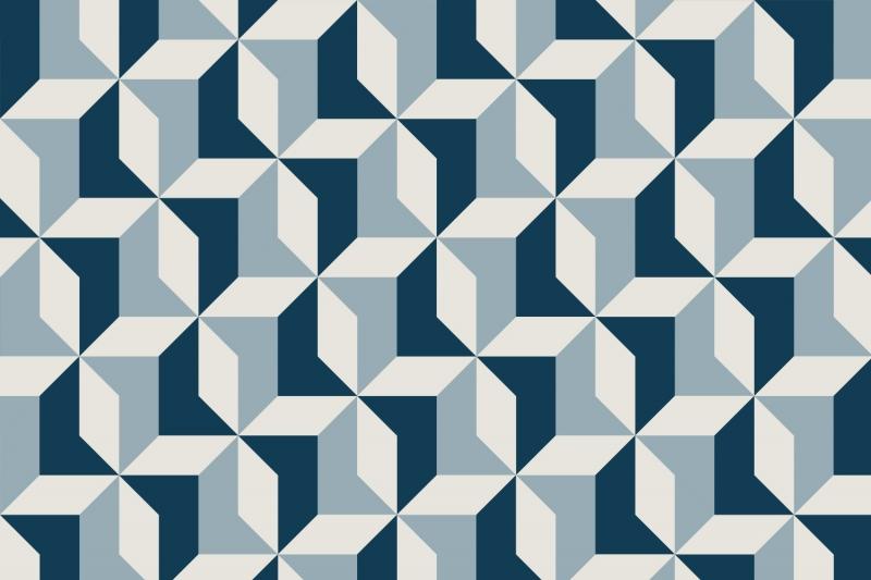 Popular Blue Geometric Wallpaper Buy Cheap