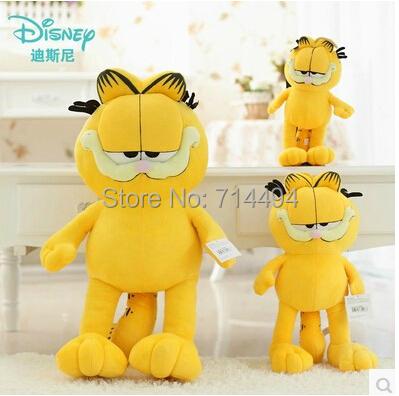 Hot Selling! 1pcs 12'' 30cm Plush Garfield Cat Plush Stuffed Toy High Quality Soft Plush Figure Doll Free Shipping(China (Mainland))