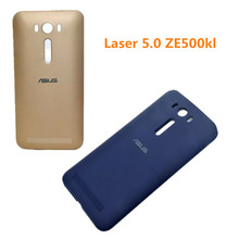 Hot Original Laser 5.0 ZE500kl Battery Cover New Arrival High Quality Durable Mobile Phone Back Case Back Shell With Side Botton