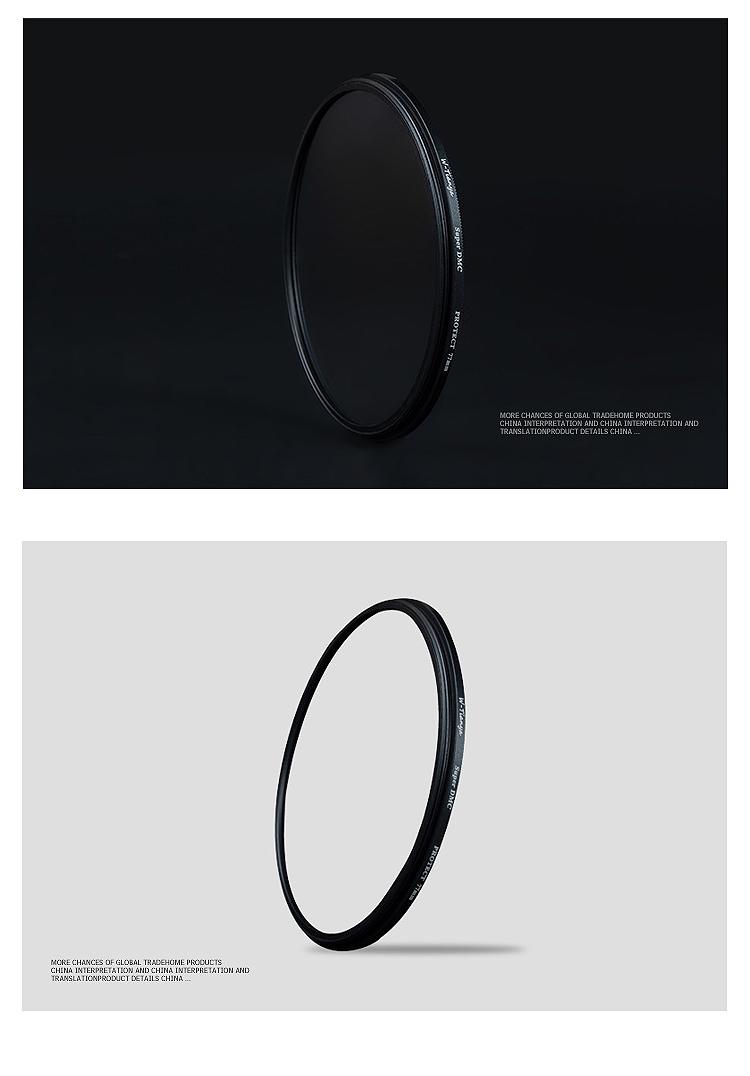 WTIANYA 58mm Multi-coated Circular Polarizer and MC UV Slim PRO Filter Kit for 58 mm Digital Cameras Lens