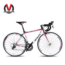 SAVA Road Bike Carbon Fiber Whole Bike R5 Size 700C 20 Speed & 16 Speed With SHIMANO 4600 Groupset & 2400 Groupset 3 colors(China (Mainland))