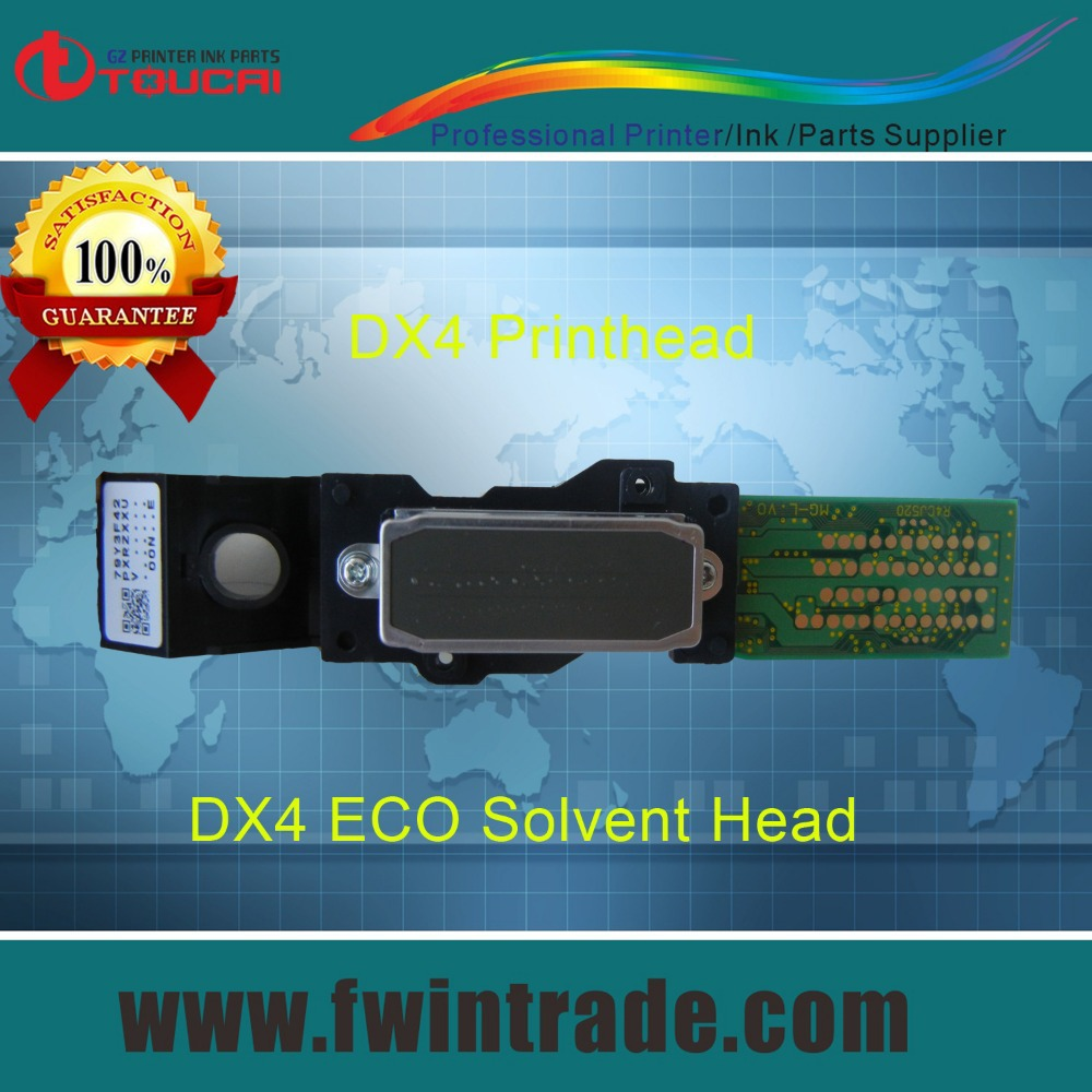 Brand new and Original Guarantee With Serial/Ranking ID Printer Spare Parts DX4 Solvent Base Roland LEC-540 Print Head(China (Mainland))