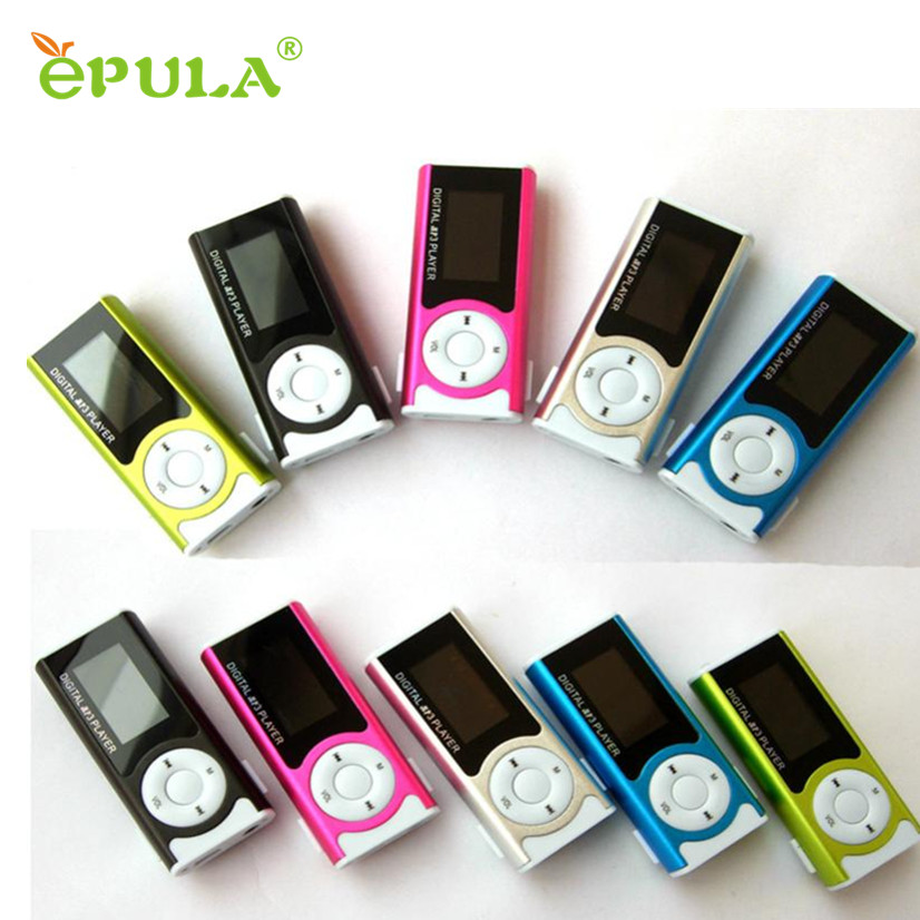 Factory Price Mini mp3 music player USB Clip LCD Screen MP3 Media Player Support 16GB MicroSD Portable mp3-player Rock mp3 sport(China (Mainland))