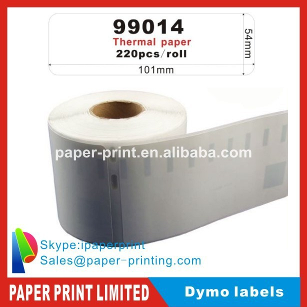 4 x rolls 54mmx101mm Compatible dymo labels (paper 99014) mailing stickers paper badge seiko label(China (Mainland))