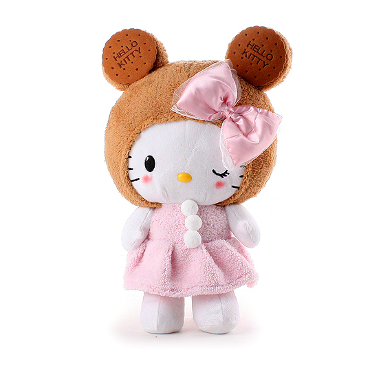 Biscuits HELLO KITTY series plush toy L KT doll 100cm doll big hello kitty plush birthday gift(China (Mainland))