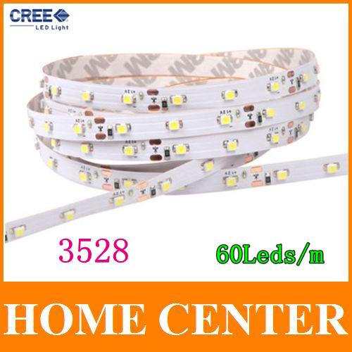 Гаджет  5M 3528 300Leds Led  Strips light  60Leds/m  Warm White Blue Red Green Yellow  Factory Outlet None Свет и освещение