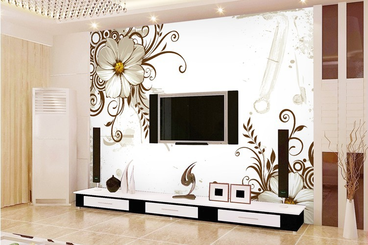 Designer Wallpapers For Home Tapestry Wallpaper In Zuni Design By