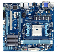 100% original Free shipping motherboard for GA-A55M-S2H A55M-S2H DDR3 Socket FM1 free shipping(China (Mainland))