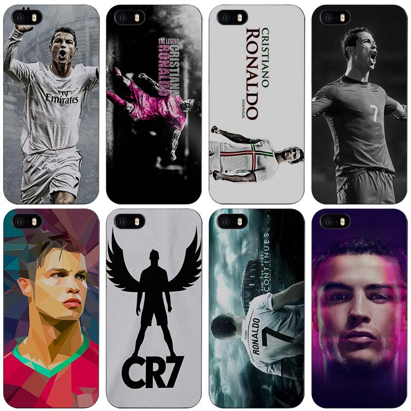 Cool Cristiano Ronaldo CR7 Love Football Portugal Hard Black Plastic Case Cover for iPhone Apple 4 4s 5 5s SE 5c 6 6s 7 7s Plus(China (Mainland))