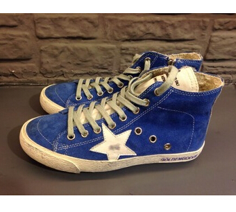 Italian Luxe Brand GGDB Golden Goose Superstar High Top Genuine Leather Casual Shoes Men Women Fashion Man Shoes Scarpe 2016