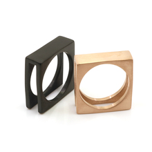 Buy Punk Rock Style Rose Gold Color Square Ring Mens Fashion Chunky Finger Bling Hip Hop Ring Size 7-13 Retro Stainless Steel Rings for $4.49 in AliExpress store
