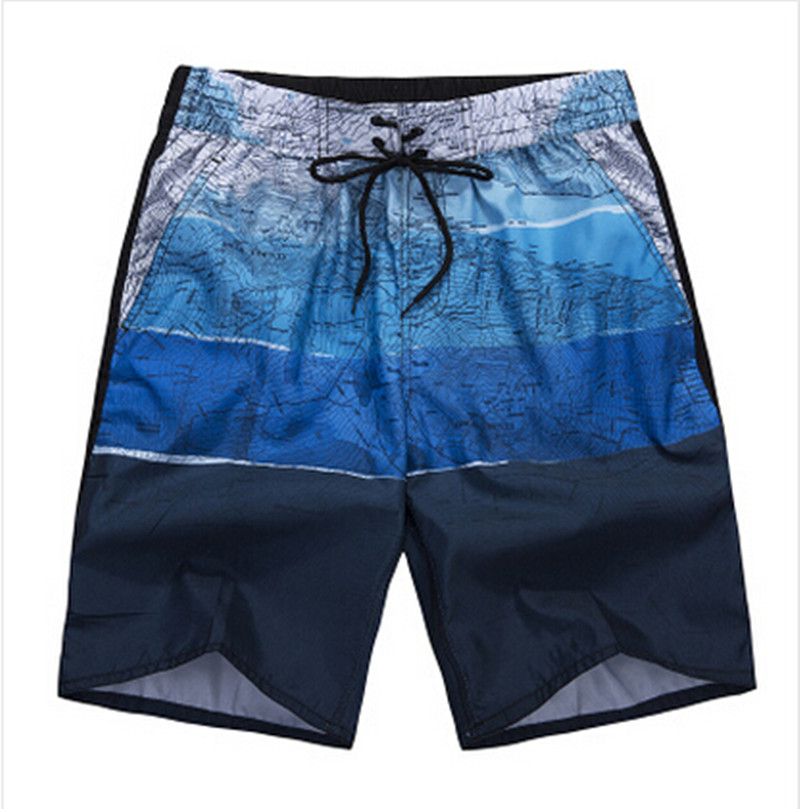2016 HOT Quick Dry Men Shorts Brand Summer Casual Swimwears Beach Shorts Men's Surf Board Shorts Plus Size L-5XL(China (Mainland))