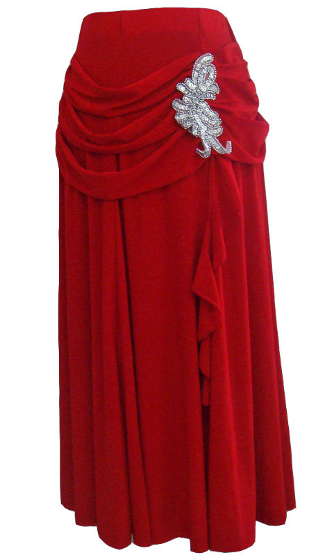 Long skirts red – Modern skirts blog for you