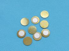 100pcs 12mm Thickness 0.33mm Copper Piezo Disc for Buzzer Pressure Sensor Speaker DIY Electronic(China (Mainland))