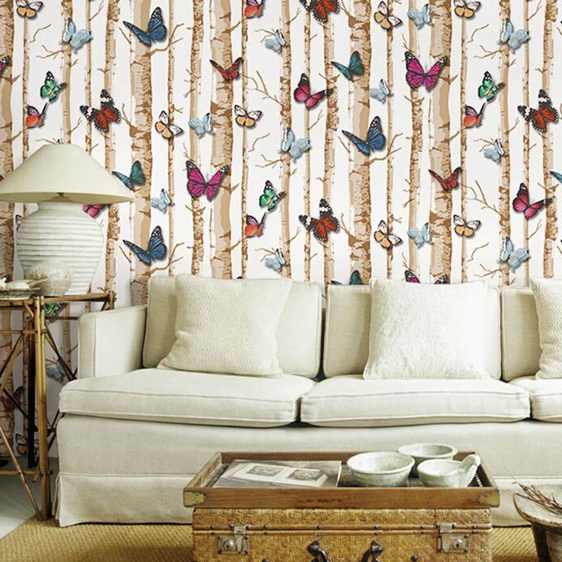 Acheter vinyle tanche en relief papillon - Papel paredes ikea ...