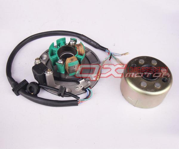 155/160 engine motocross magnetic rotor coil assembly