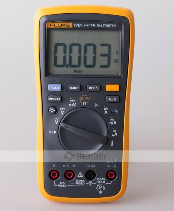 Amp Probe Automotive : Fluke b auto range digital probe multimeter meter