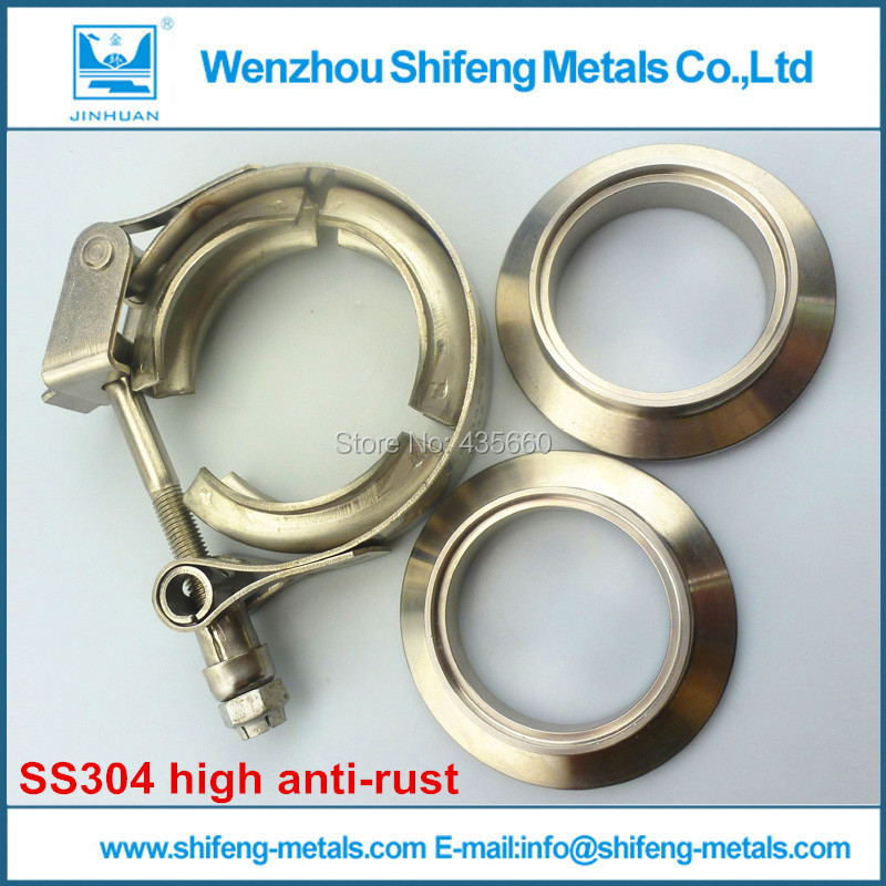 1.75V Band clamp with M/F flange. VBand clamp kits<br><br>Aliexpress