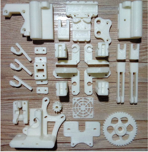 Reprap Prusa i3 3 D printer printed parts kit white color ABS free shipping<br><br>Aliexpress