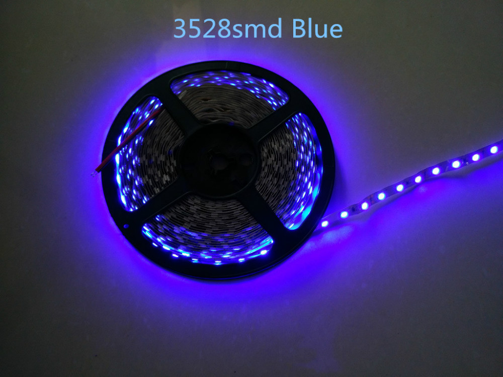 5m 300 LED SMD3528 non-waterproof SMD 12V flexible light 60 led/m,6 color LED strip white/warm white/blue/green/red/yellow Tiras(China (Mainland))