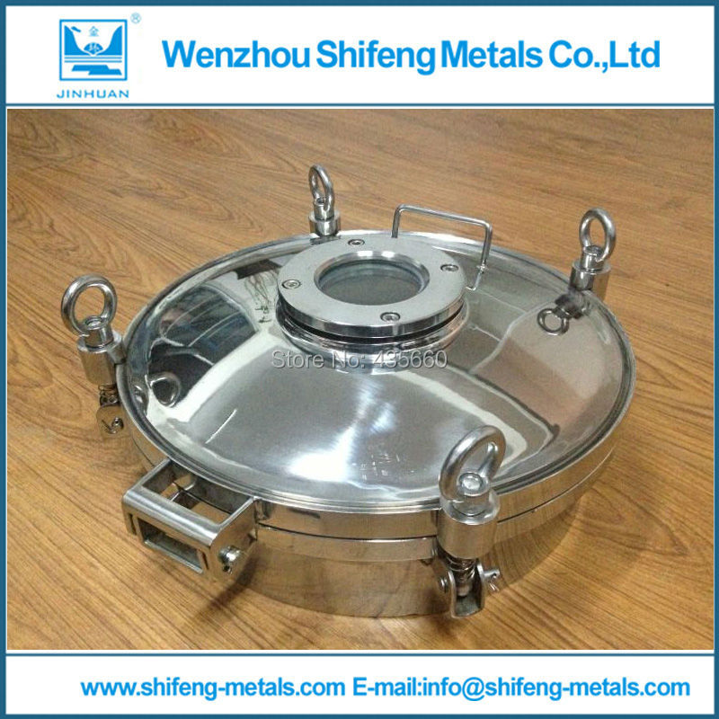 Diameter size 500mm stainless steel 316L sanitary manhole cover(China (Mainland))