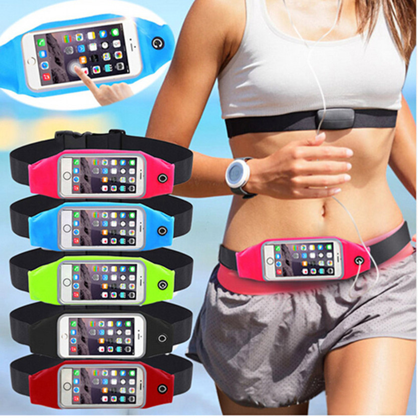 Waterproof Sport Gym Waist Bag Case For Samsung Galaxy A7 2016 A710F A710 Running Wallet Phone Pouch