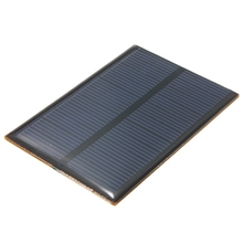Hot Sale 5.5V 0.66W 120mAh DIY Monocrystalline Silicon Solar Panel Module Mini Solar Cells Battery Phone Charger