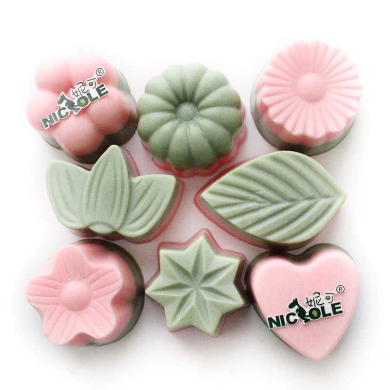 DIY silicone molds for cake decoration pudding dessert Flowers and plants handmade soap mould chocolate mold oven baking moulds(China (Mainland))