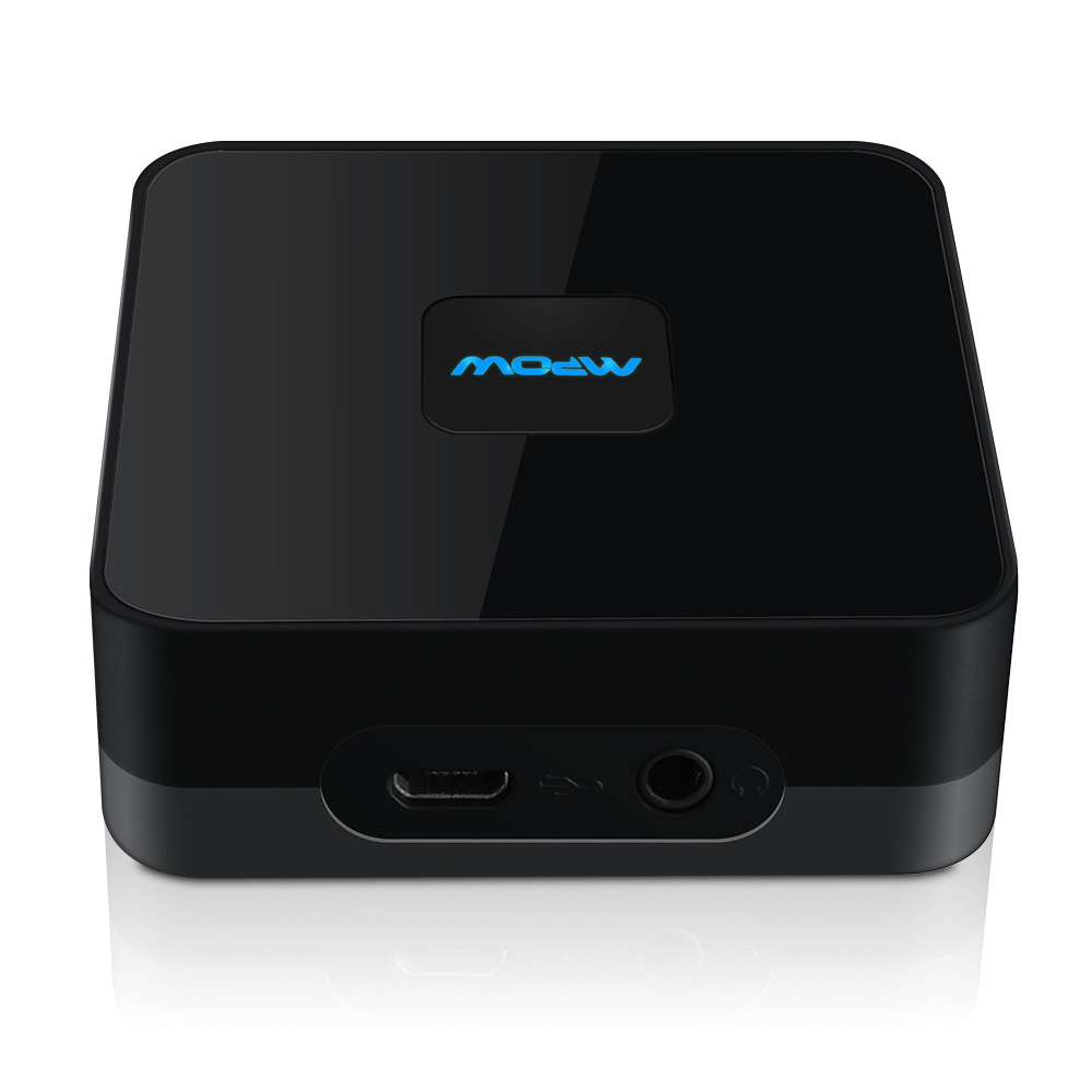 Mpow MBR5 Bluetooth 4.0 Audio Receiver NFC-Enabled Apt-X Adapter 3.5 & RCA Cable with Stable Signal Stereo Sound(China (Mainland))