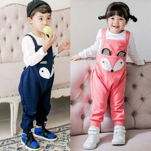 Super Baby Kid Infant Newborn Child Girl Boy Toddler Overalls Baggy Harem Pants Romper