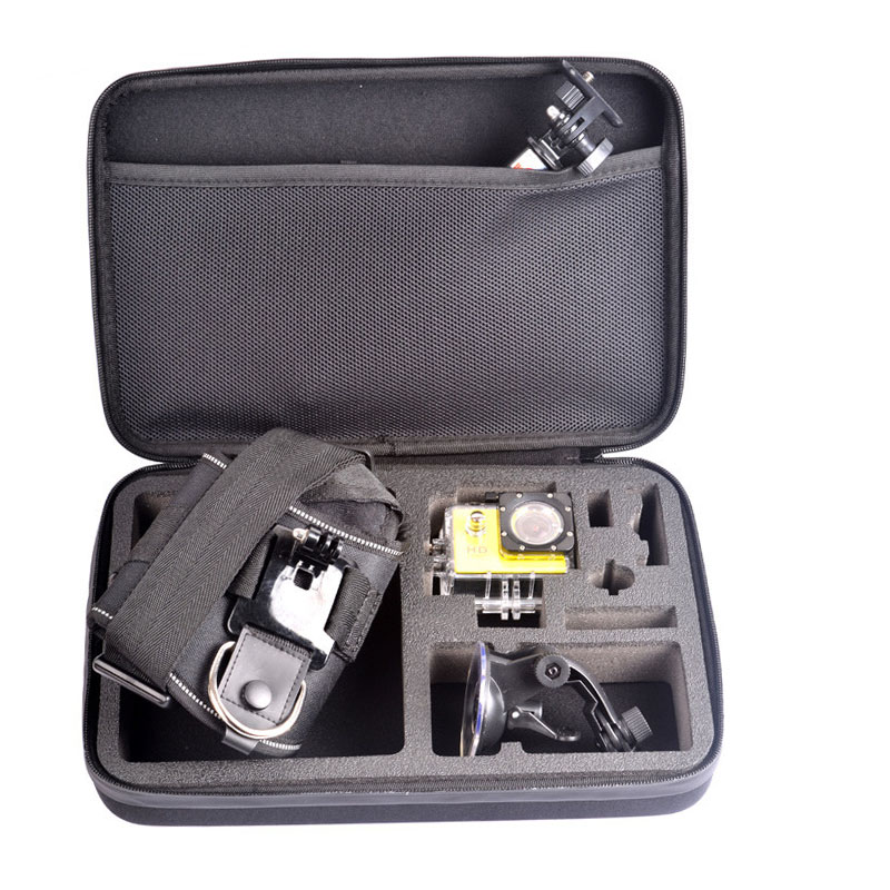 New Large WaterProof Bag  Shockproof Portable Case Accessories For Go Pro HD
