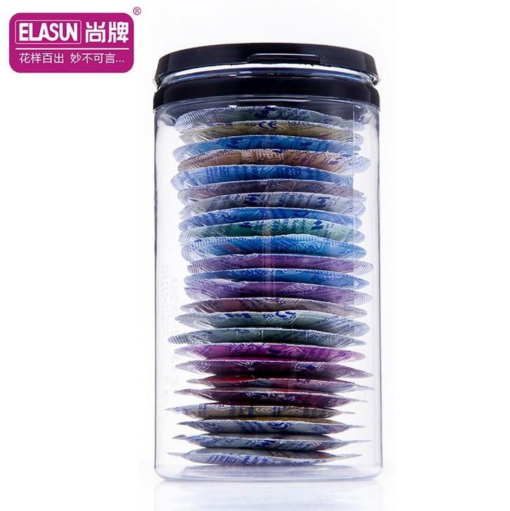 Original 24pcs / box Elasun 004 Super thin man lifestyles condoms penis sex toy products for men fruit flavours<br><br>Aliexpress