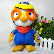 Sale Korea PORORO 20cm classic toy penguin plush doll Bo Lulu Little Penguin Adventure birthday gift Free Shippin - Black Knight Store store