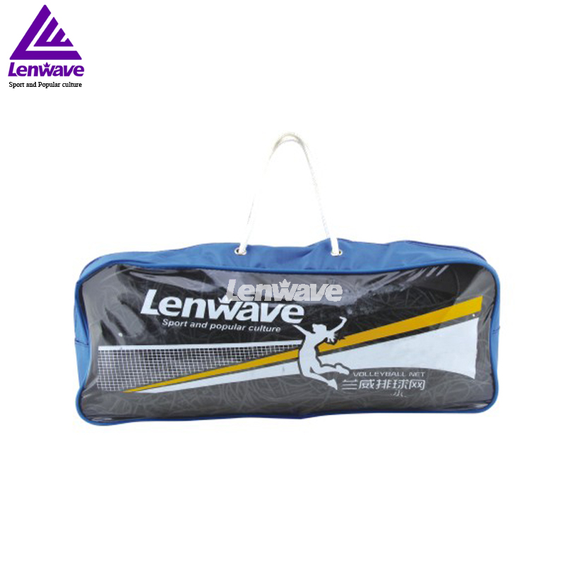 2016 New High Quality Beach Volleyball Net Sports Accessories Lenwave Brand Black Volley Ball Net Free Shipping(China (Mainland))