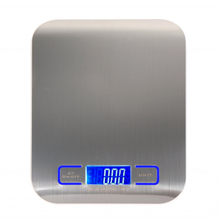 Buy 11 LB / 5000g Kitchen Scales Cooking Tools Measure LED Digital Scale Stainless Steel High-precision Electronic Weight Scales for $9.16 in AliExpress store