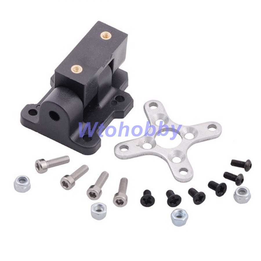 HJ-Y3 Three-axis Aircraft Brushless Motor Mount Holder for RC Airplanes(China (Mainland))