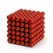 New Style 216 x 5mm Magic Magnet Magnetic Balls Sphere Neodymium Cube DIY Puzzle HA10614(China (Mainland))