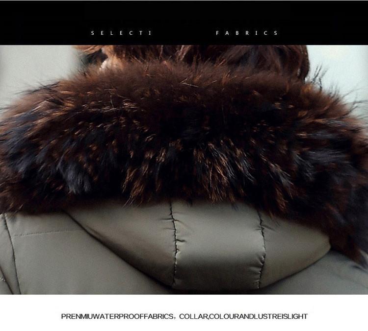 Скидки на Зимняя Куртка Мужчины Пальто Толстые Теплые Случайные Вниз Пальто Зимнее ветрозащитный Капюшоном Пиджаки Мужчин Парки Меховой Воротник Пальто Мужчины Y18